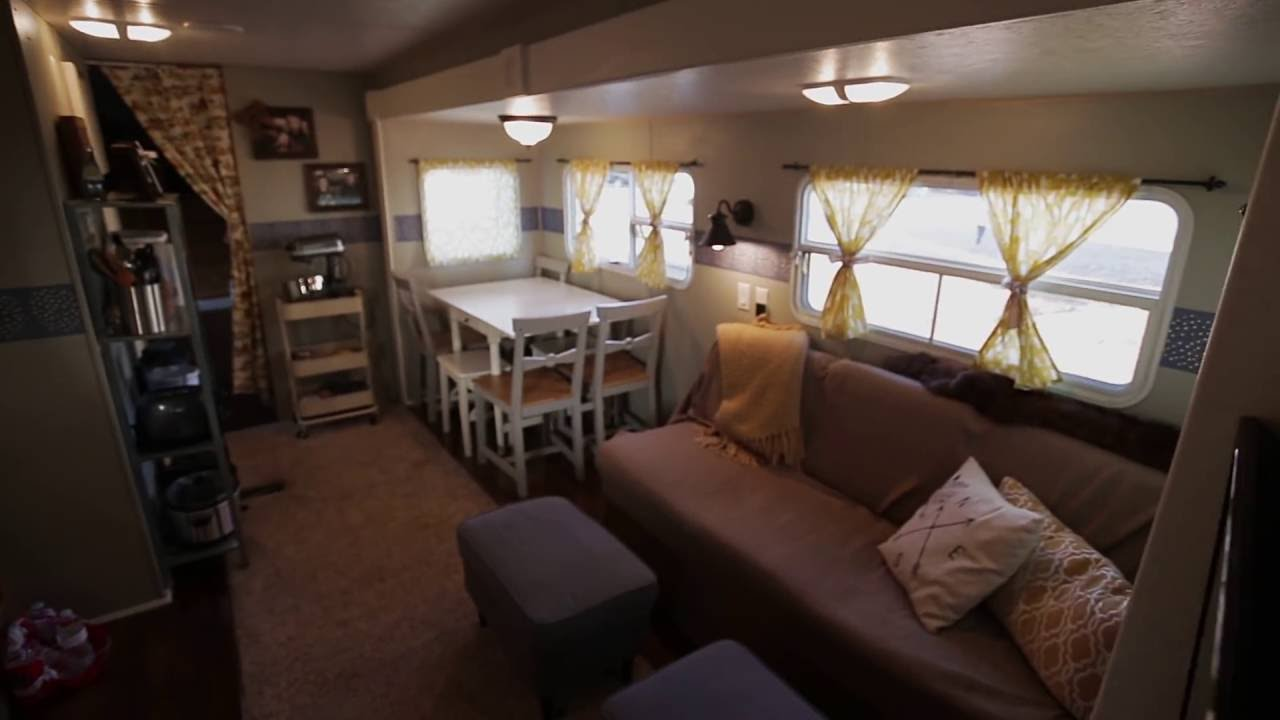 How we renovated our travel trailer